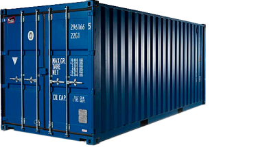 SEA CONTAINER SIZES 20' Dry Cargo Container 40' Dry Cargo